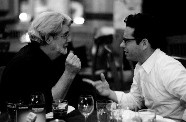 George Lucas speaks to JJ Abrams