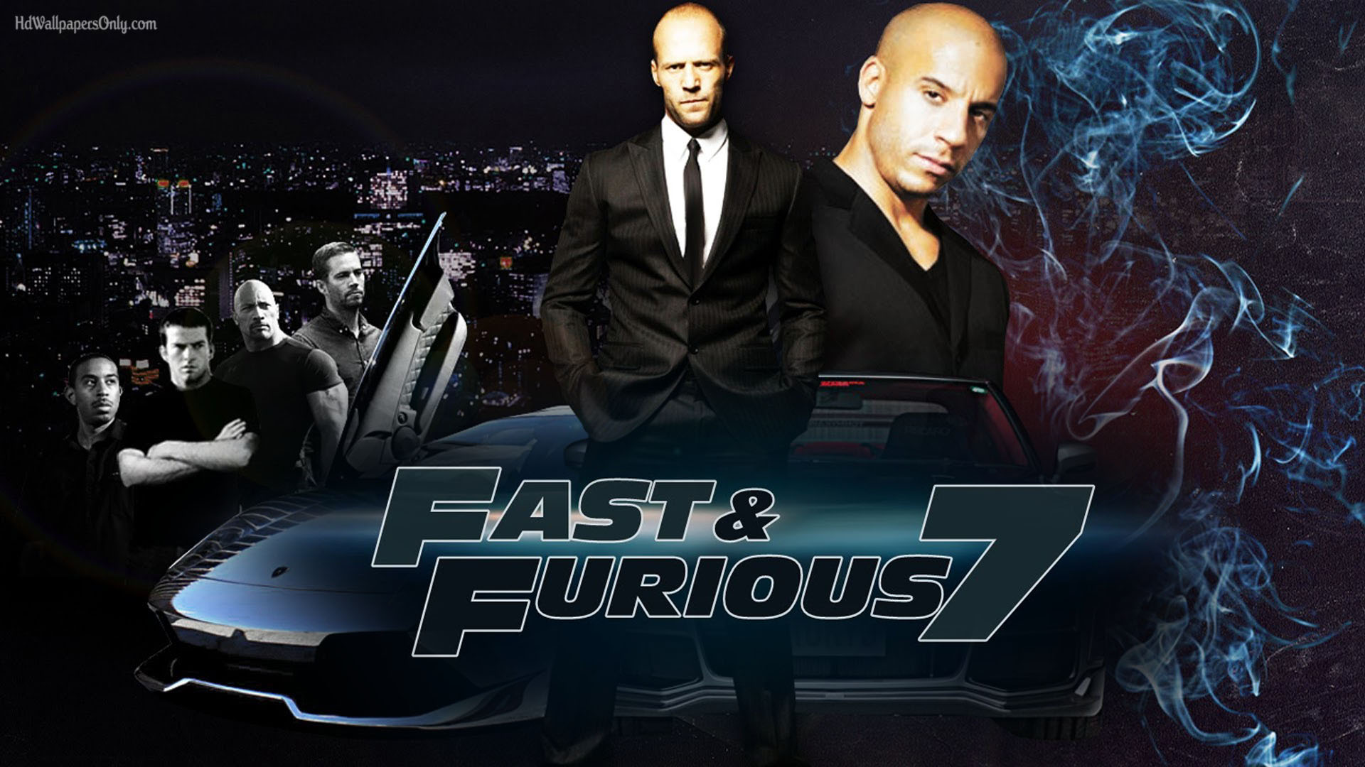 fast furious 7 a fitting tribute to paul walker. Black Bedroom Furniture Sets. Home Design Ideas