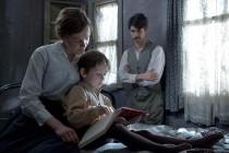 Carey Mulligan (Maud), Adam Dodd (George) & Ben Whishaw (Sonny) in SUFFRAGETTE