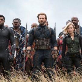 Avengers Infinity War Captain America Black Panther